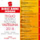 Teglio Teatro Festival Valtellina 2018